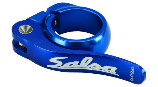 SALSA Flip-Lock collier de selle bleu